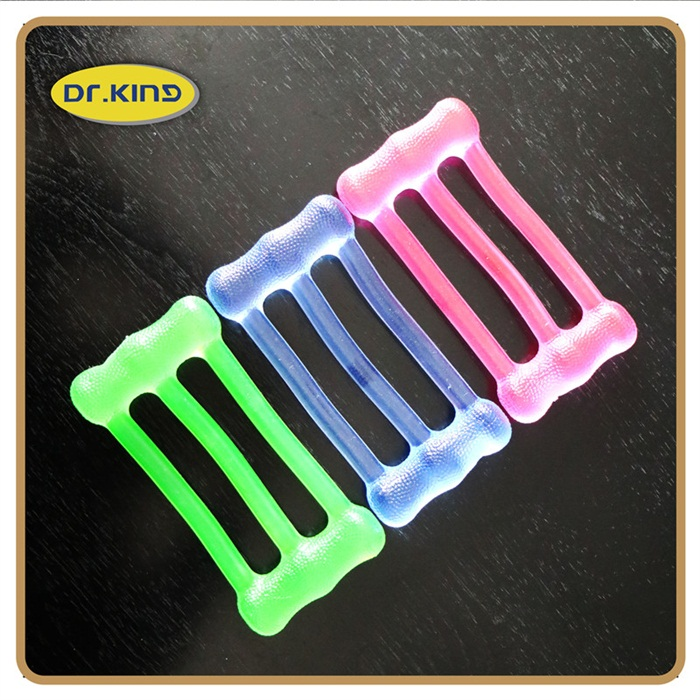Silicone jelly stretch gum chest expander fitness developer for body exercise