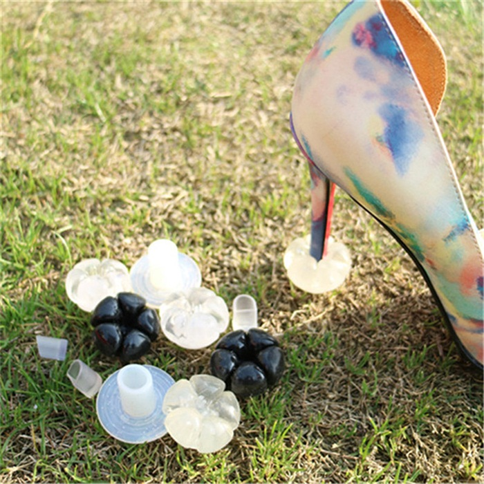 Outdoor grass stiletto heel protecter stopper gel cover cap starlettos