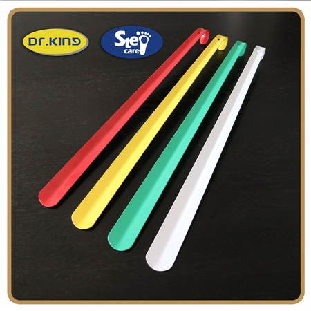 Customized extra Colorful Printed Plastic Shoe Horns/plastic shoe horn/ custom shoe helpers